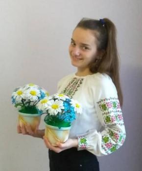 Участь у Всеукраїнському та обласному конкурсах з писанкарства